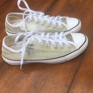 Converse Shoes - Unisex Converse Lo clear sneakers